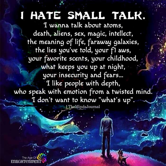 smaill-talk