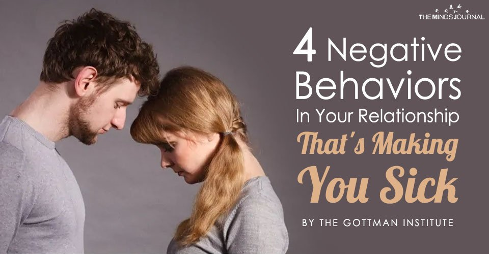 4 Negative Behaviors That May Be Making You Sick