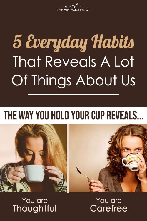 Habits Gives Away Personality