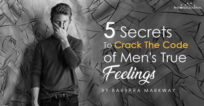 5 Secrets To Crack The Code of Men's True Feelings