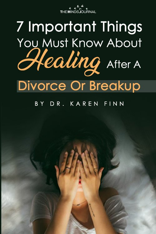 7 Important Things You Must Know About Healing after A Divorce Or Breakup