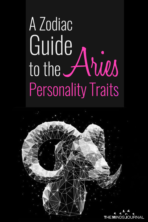 A Zodiac Guide to the Aries Personality test pin