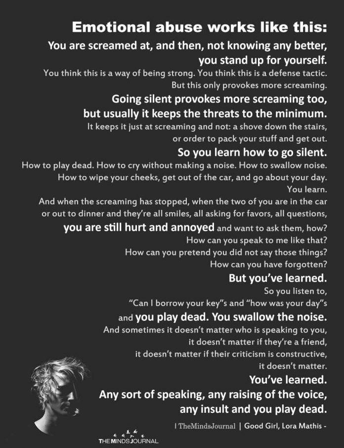 Emotionally Abusive People