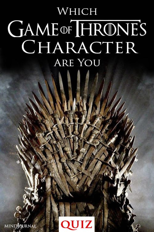 Game Of Thrones Character Are You quiz pin