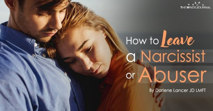 How to Leave a Narcissist or Abuser