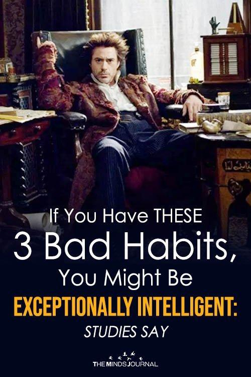 bad habits and intelligence