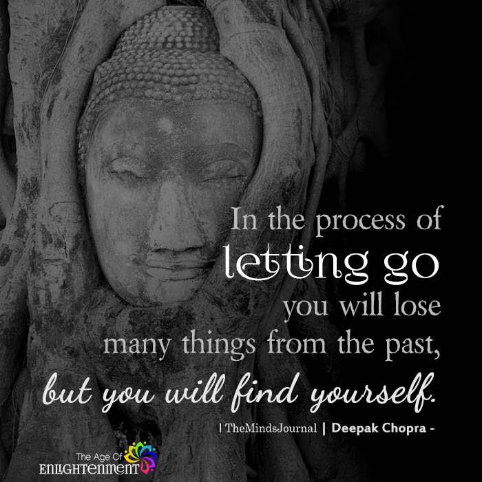 In The Process Of Letting Go