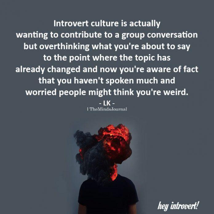 Introvert culture