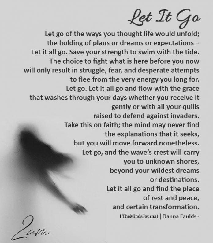 let it go - optimism