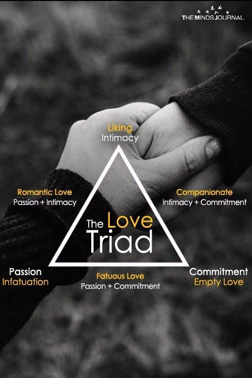 The Love Triad Pin