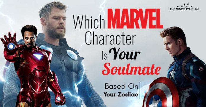 Marvel Character Soulmate Based Zodiac Sign
