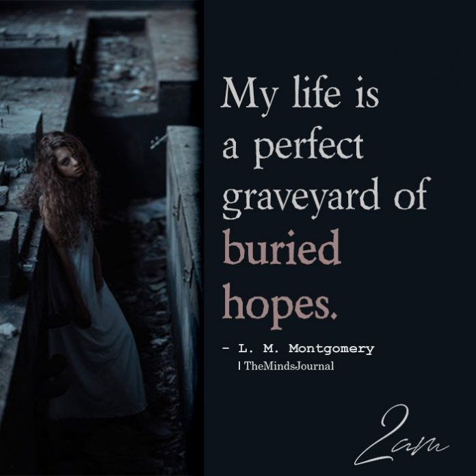 My Life Is A Perfect Graveyard