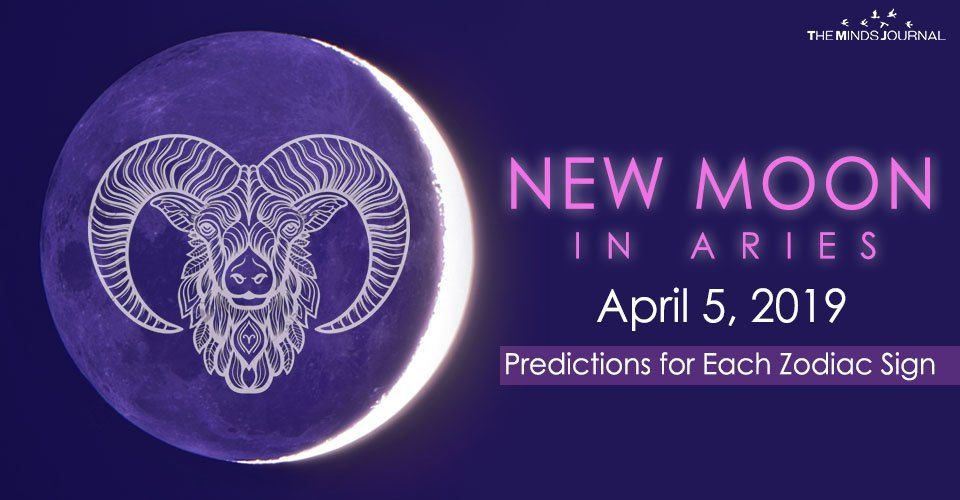 New Moon in Aries – April 05 2019: Predictions For Each