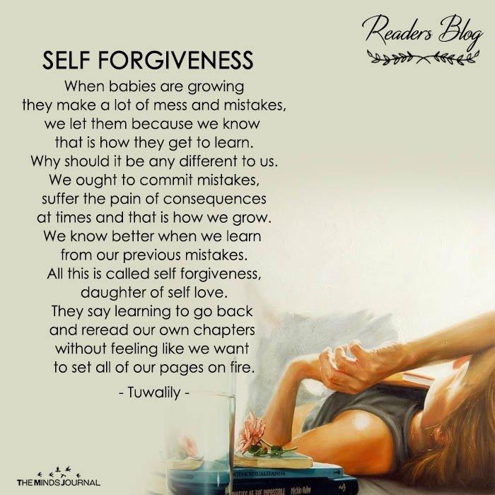 SELF FORGIVENESS