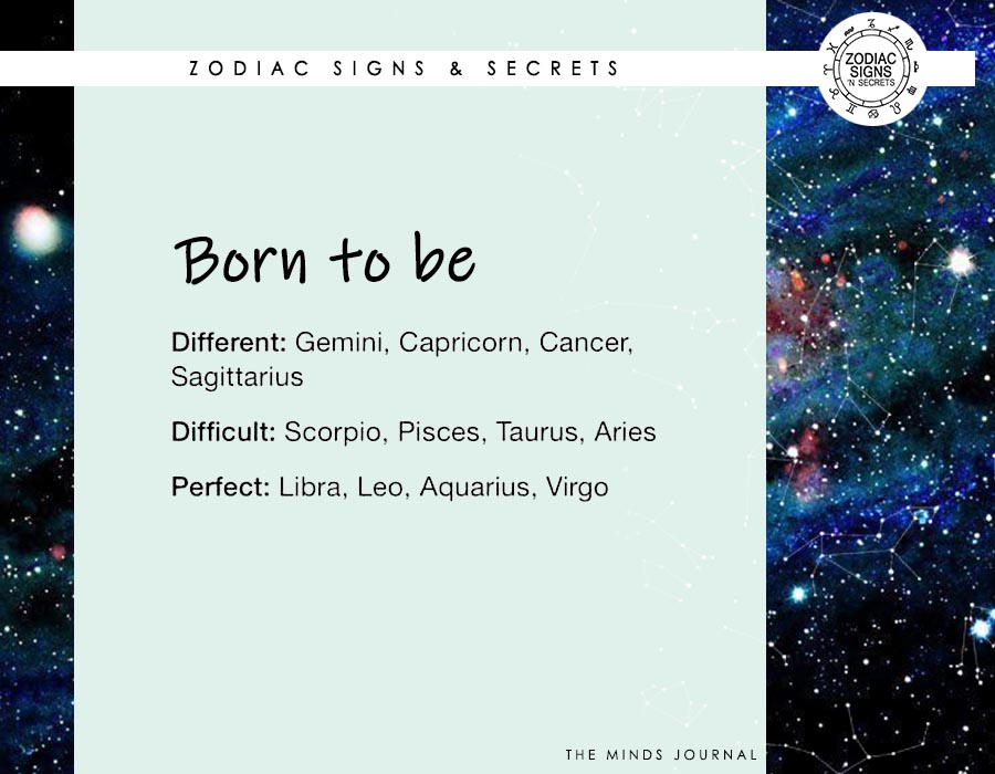 Signs Born To Be