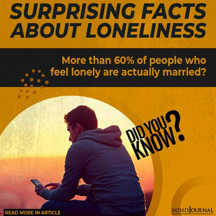 Surprising Facts Loneliness married