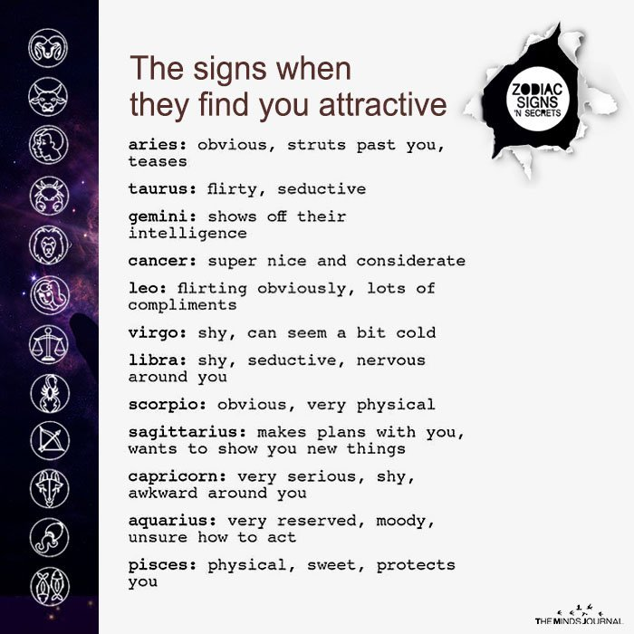 The Signs When They Find You Attractive