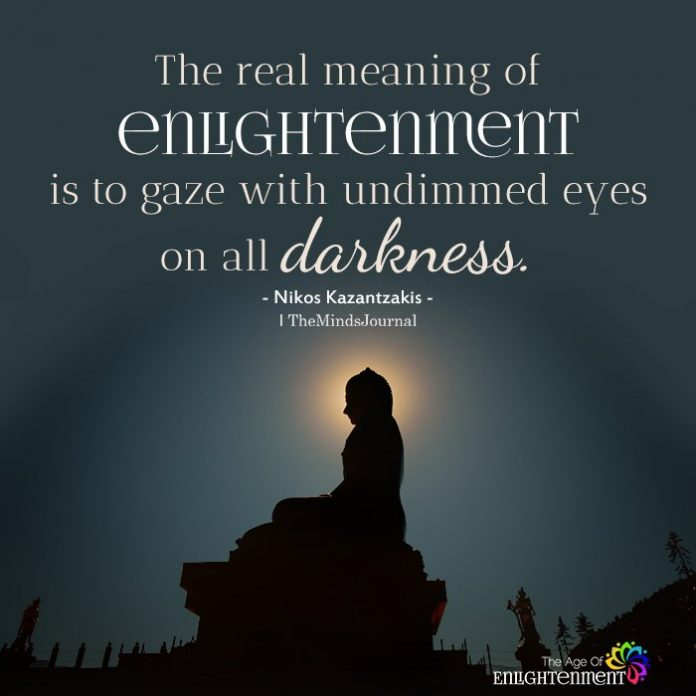 The real meaning of enlightenment