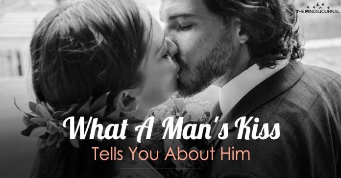 What A Man's Kiss Tells You About Him