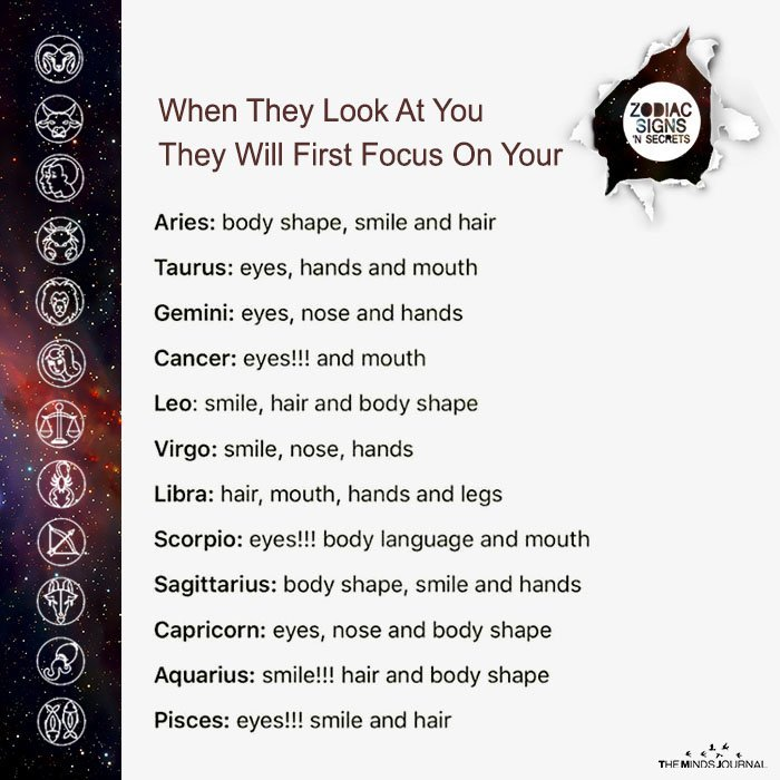 When They look At You They Will First Focus On Your