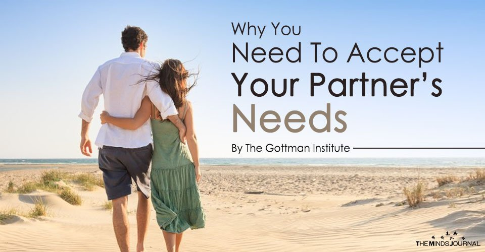 Why You Need To Accept Your Partner's Needs