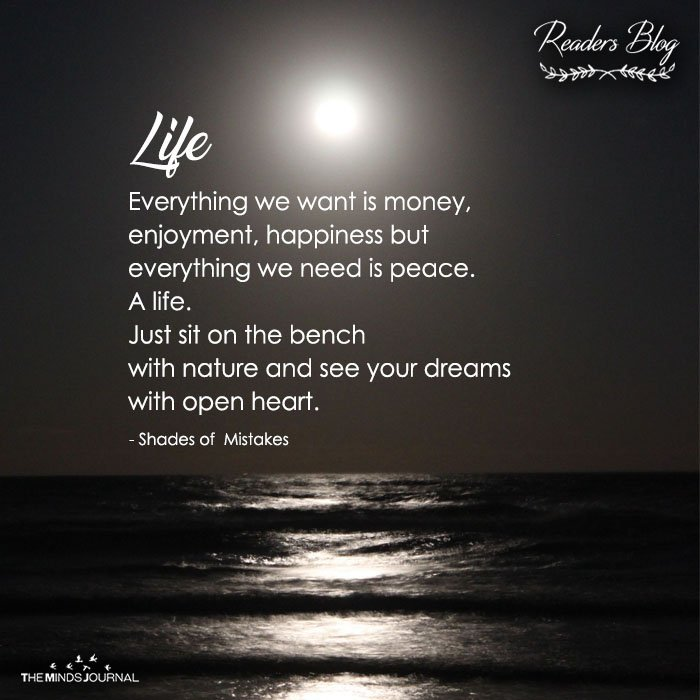 A life
