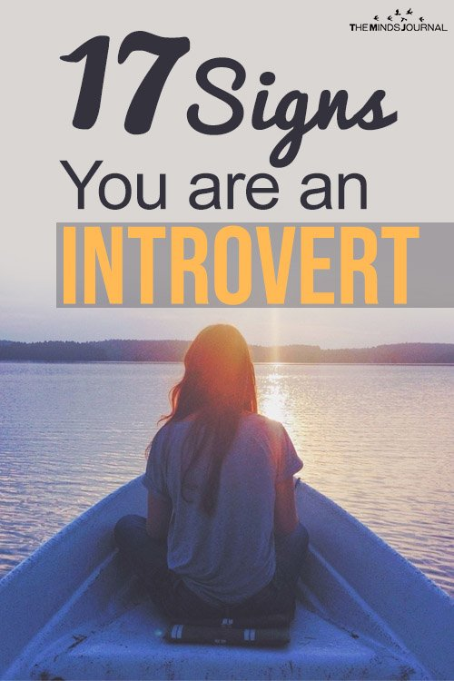 17 signs you are an introvert pin