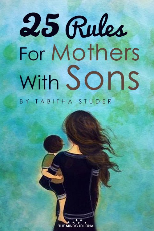 25 rules for mothers with son pin