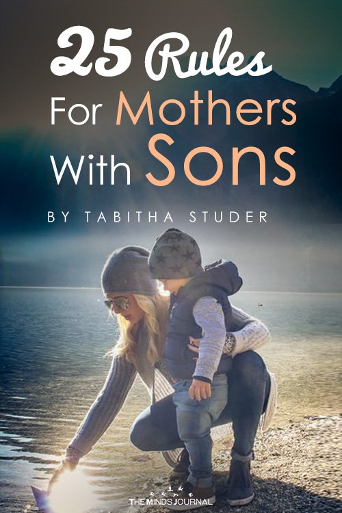 25 rules of mothers with sons pin 2