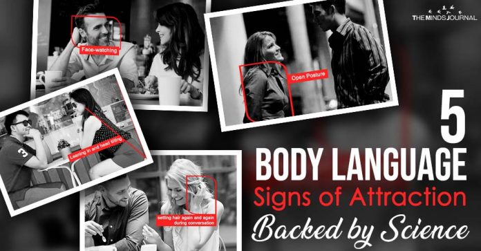 5 Body Language Signs Of Attraction Backed By Science