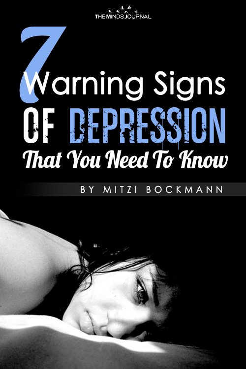 7 warning signs of depression that you need to know pin