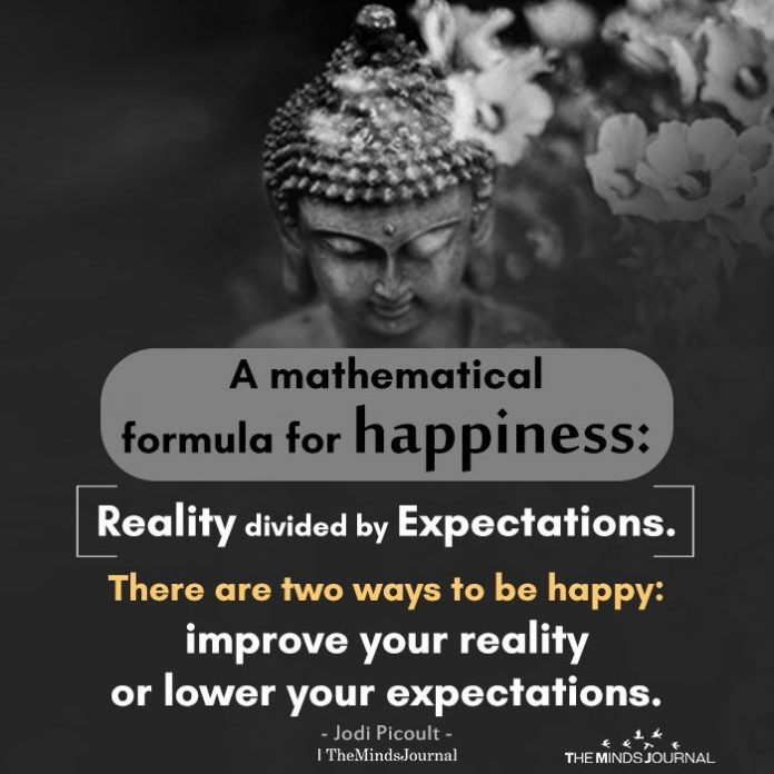 A mathematical formula for happiness
