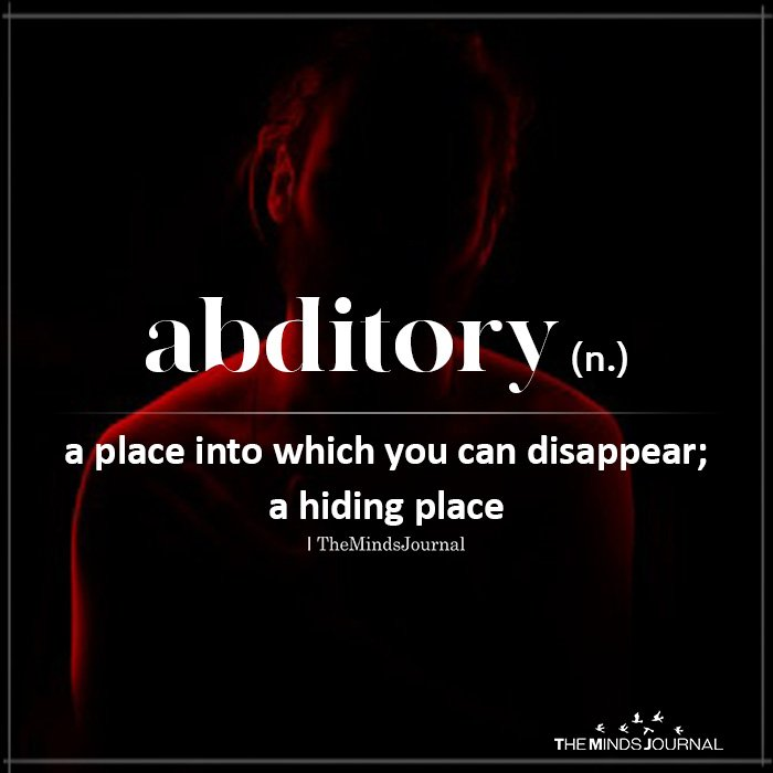 Abditory (n.)