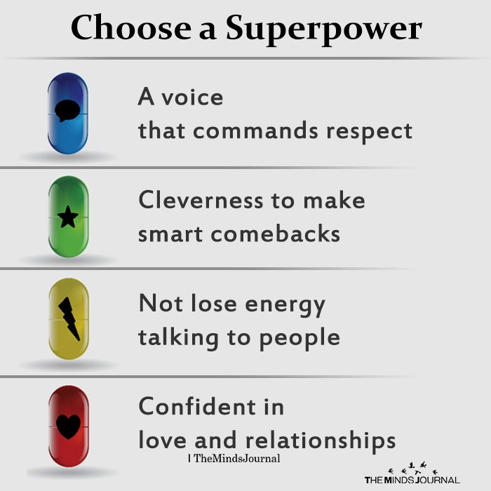 Choose a Superpower