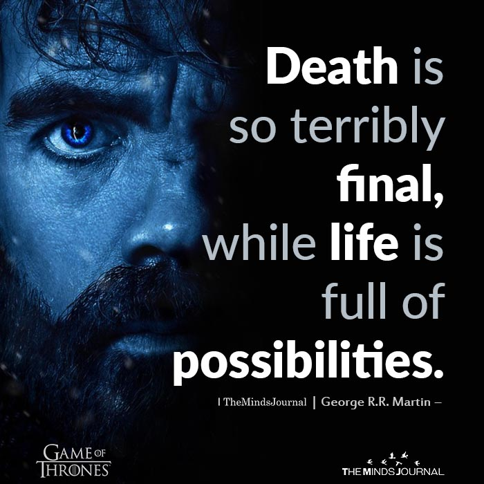 Death Is So Terribly Final