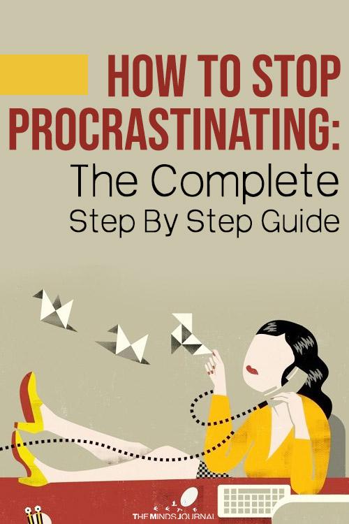 How To Stop Procrastinating pin