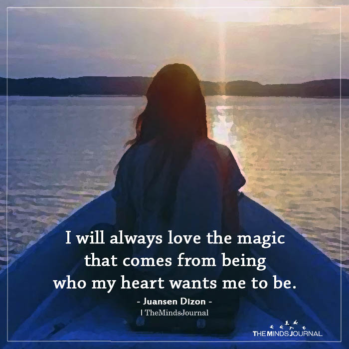 I will always love the magic