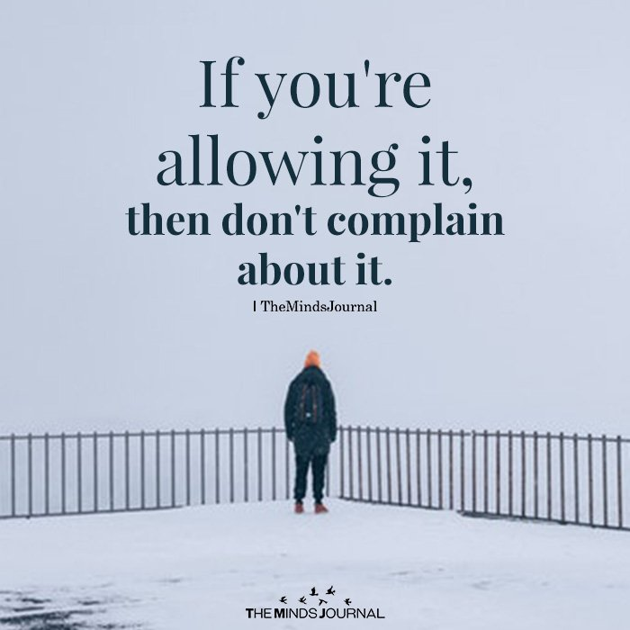 If you're allowing it