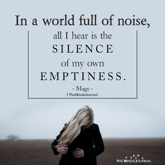 In a world full of noise