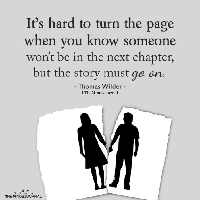 It's Hard To Turn The Page