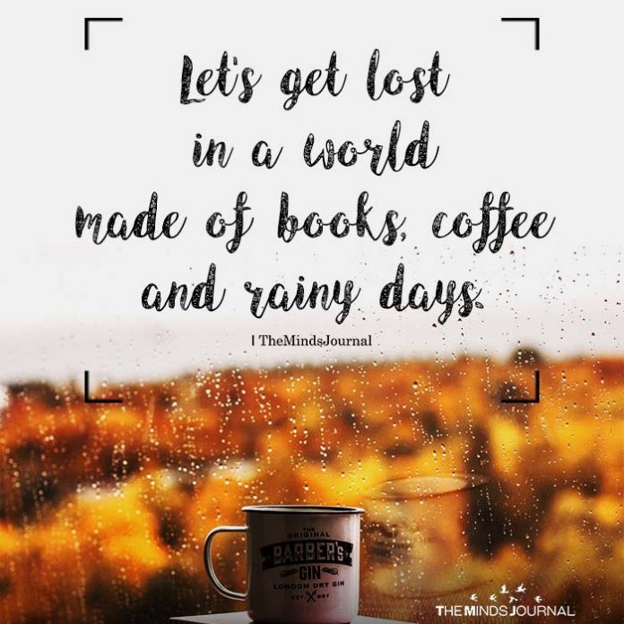 Let's get lost in a world made of books