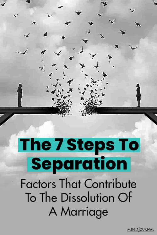Steps To Separation pin
