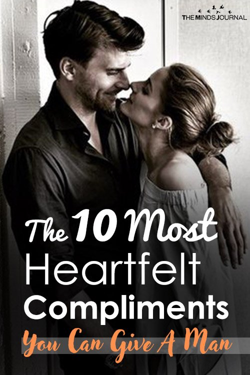 The 10 Most Heartfelt Compliments You Can Give A Man pin