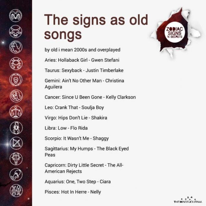The Signs As Old Songs