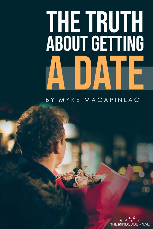 The Truth About Getting A Date pin