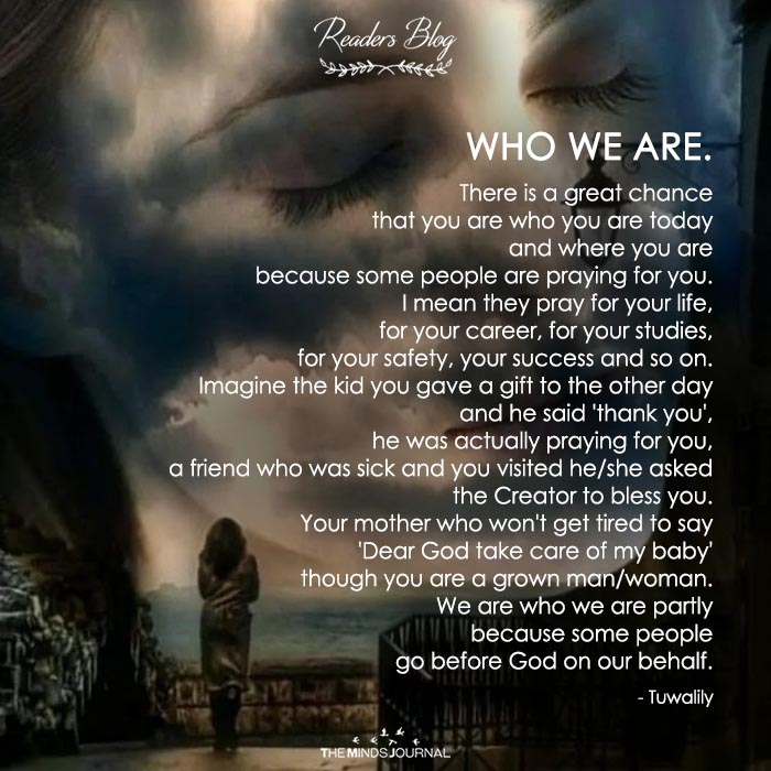 WHO WE ARE.
