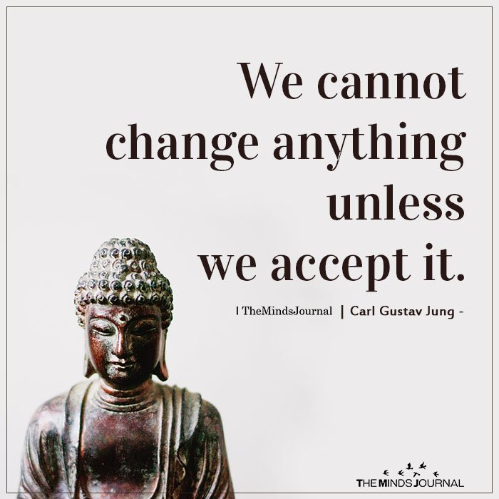 We cannot change anything