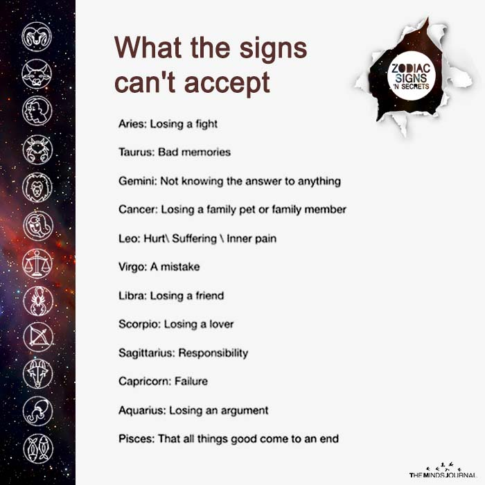What The Signs Can't Accept