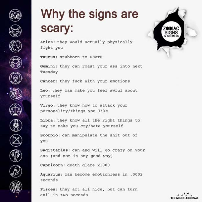 Why The Signs Are Scary