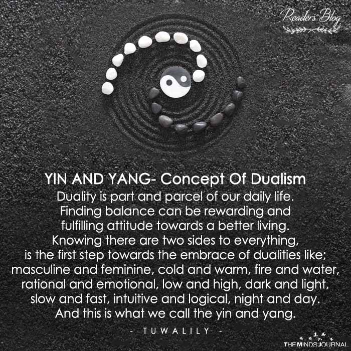 YIN AND YANG- Concept Of Dualism